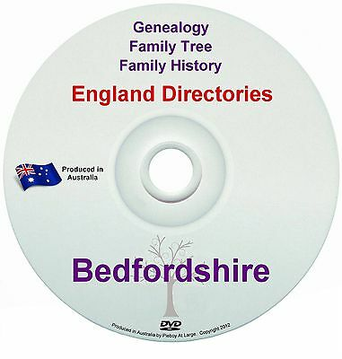 Family History Tree Genealogy Directories Post Office Trades Bedfordshire New