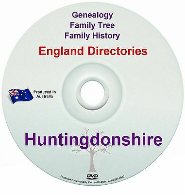 Family History Tree Genealogy Directories Post Office Trades Huntingdonshire New