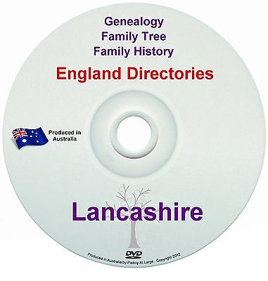 Family History Tree Genealogy Directories Post Office Trades Lancashire New DVD