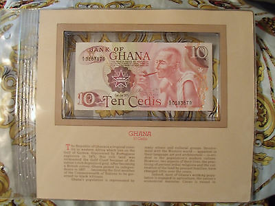Most Treasured Banknotes Ghana 1978 10 Cedis P16f UNC Prefix E/2
