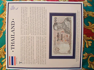 PCS Historic Currency  Thailand 10 baht 1995 P98 UNC prefix 8D