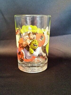 McDonald's Shrek the Third Collectible Drinking Glass Great Graphics