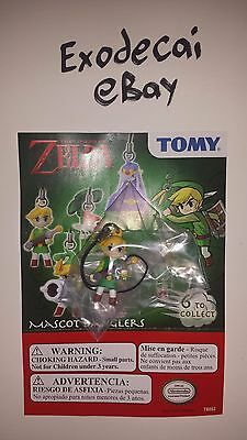 Link Sword Legend Of Zelda Tomy Mascot Danglers Minish Cap Keychain