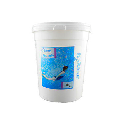 New H2O Clear 1Kg Multi Function Chemical Chlorine 50X20G Tablets Swimming Pool