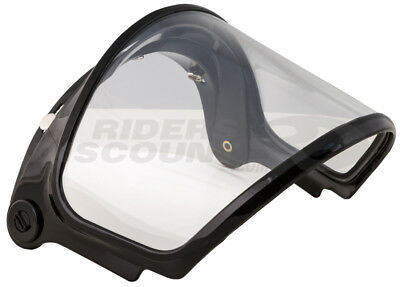 GMax GM2 GM7/X Dual Lens 3 Snap Cold Weather Helmet Shield Clear