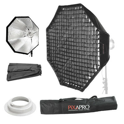 150cm Easy Open Umbrella Softbox 4cm Grid Honeycomb Broncolor (B) Fitting 59""
