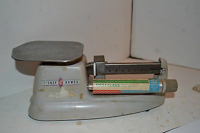 VINTAGE PITNEY BOWES Post Office POSTAGE SCALE First Class Third Mail