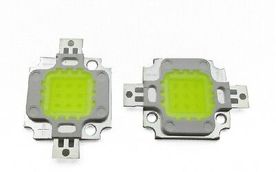 2pcs 10W LED Integrated Light Source Ultra Bright White High Power