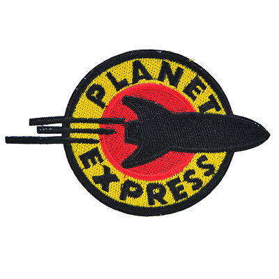 Futurama Planet Express Crew Iron On Patch TV Cosplay Logo Costume