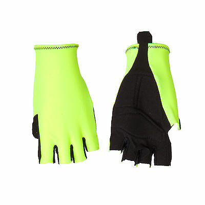 Guanti Ciclismo Proline Giallo Fluo Cycling Gloves Yellow Fluo S M L Xl New