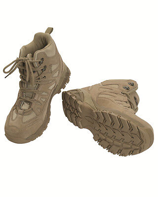 SQUAD Stiefel 5 Inch coyote, Camping, Outdoor, Military -NEU-
