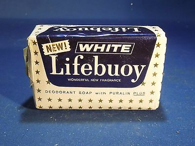 Vintage Mid Century Lifebuoy Bar Soap New White with Puralin Plus New Fragrance