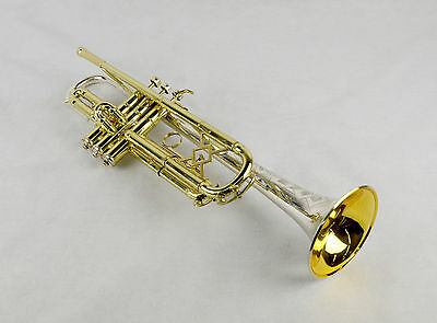 King Silver Tone Bb Trumpet - MINT CONDITION Harrelson Trumpets Trade