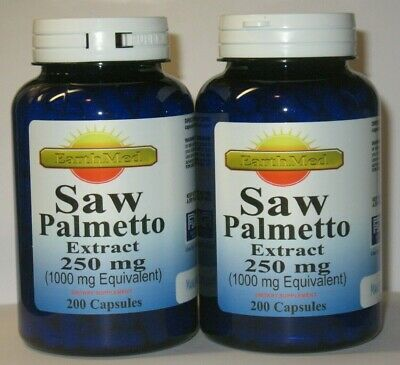 400 Capsules  Saw Palmetto 1000 mg - Prostate Health  1 Year + Supply