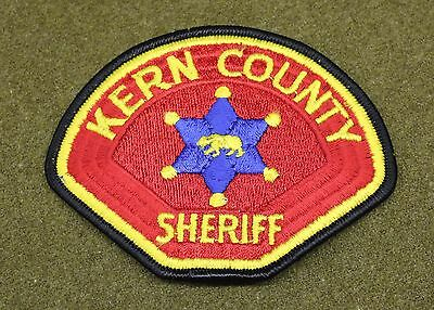 18683) Patch Kern County California Police Sheriff Department Law Enforcement