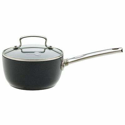 The Original GreenPan 1405503 16cm Saucepan Pan With Glass Lid Non Stick Pot