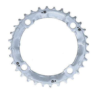 Shimano 32T Mega 9 Speed Chainring Deore FC-M510 M440 Silver Y1DS98010 104mm BCD