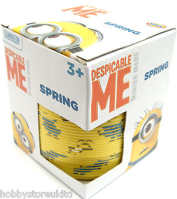 Minions Spring Spring Slinky Children's Despicable Me Minion Slinky Spring 8 cm