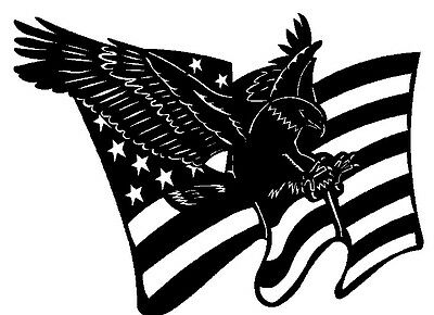 And american flag dxf file for cnc laser plasma cutter or router