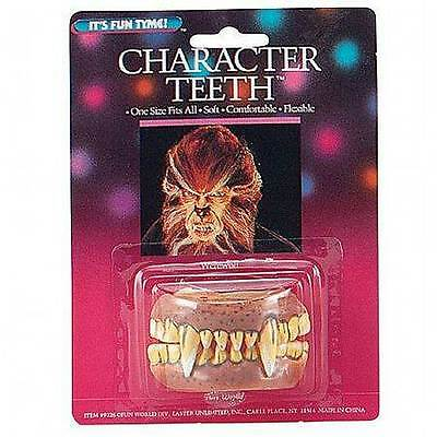 Fake Teeth, Werewolf Set, Fancy Dress Accessory, Halloween