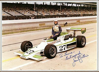 Janet Guthrie, Indy Driver, Signed Photo, COA