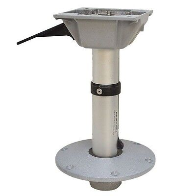 Springfield 15 1/2 Inch Fixed Height Boat Seat Pedestal Post / Base W/ Swivel