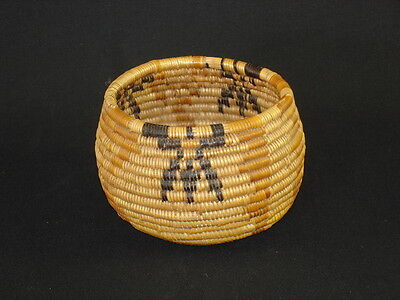 A Mission Bowl, Native American Indian Basket - Circa 1910
