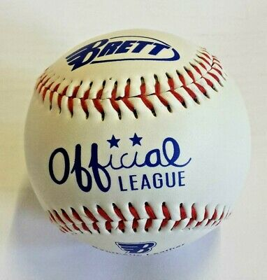 Brett® Baseball Official League Base Ball Hart synthetic leather MLB Baseball