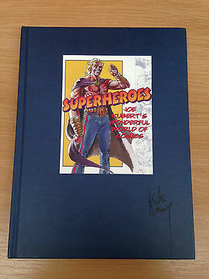 Superheroes Joe Kubert's Wonderful World of Comics SIGNED by Joe Kubert