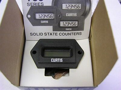 Curtis 703TN00100512D 5-12VDC Nom. Non-Ressettable 3-Wire Counter