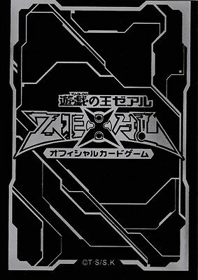 (100) YU-GI-OH Card Deck Protectors New ZEXAL Card Sleeves Black