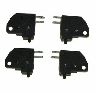 One Pair  Front/Rear Scooter Brake Light Switch GY6 50cc 150cc QMB139  Moped