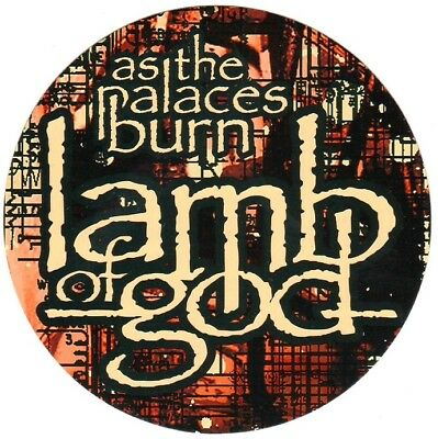 LAMB OF GOD As The Palaces Burn Ltd Ed RARE NEW Stickers+FREE Metal Stickers VII