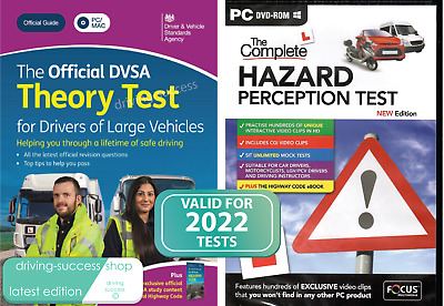 2017 LGV / PCV / HGV Theory Test PC / Mac DVD-ROM & Hazard Perception DVD-ROM