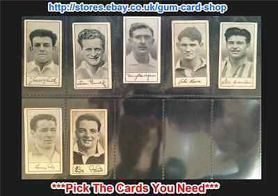 Barratt & Co - Famous Footballers 1958 - A.6  (F) *Pick The Cards You Need*