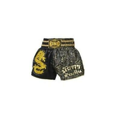 TOP KING Muay Thai Boxing Kickboxing Shorts DRAGON S M L XL TOPKING Short Gold