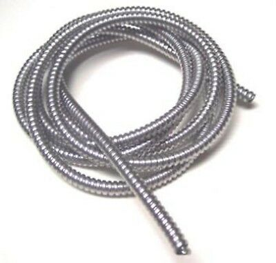"wire loom 3/8"" I.D. 120"" long stainless steel for Peterbilt Kenworth Feightliner"