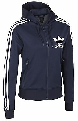 adidas Adi Flock Hoodie Trefoil Top E14576~SIZE XXS ONLY~HENCE SALE PRICE~N10