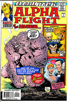 Marvel Comics ALPHA FLIGHT MINUS 1 In the Beginning 1997 #-1 NM-