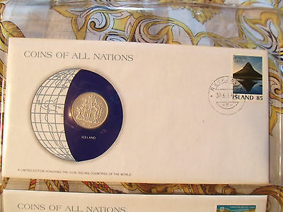 Coins of All Nations Iceland 10 Kronur 1978 UNC