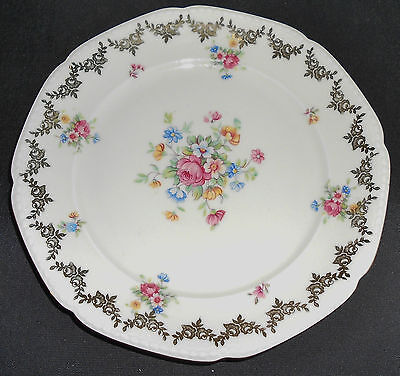 """Mitterteich Orphans - (1) Tea Cup Only and (1) 7.5"""" Salad/Side Plate"""