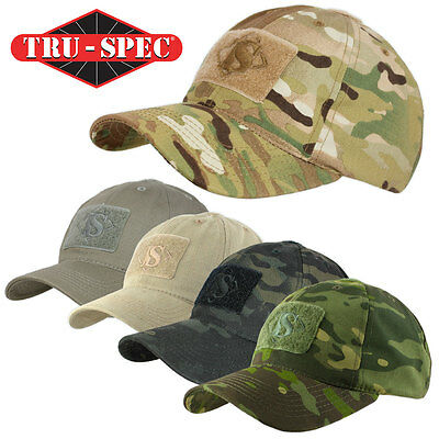 Tru-Spec Contractor Military Army Operator Tactical Camo Velcro Baseball Cap Hat