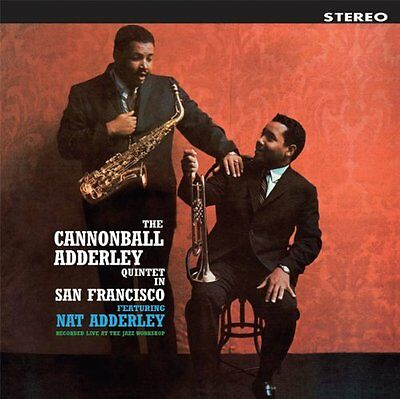 The Cannonball Adderley Quintet - In San Francisco - Vinyl LP *NEW & SEALED*