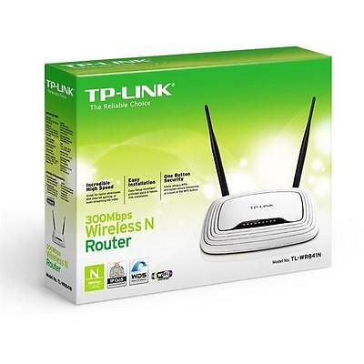 TP-LINK TL-WR841N Router Wireless 300Mbps 2x2 mimo SWITCH 4 Porte LAN, Streaming