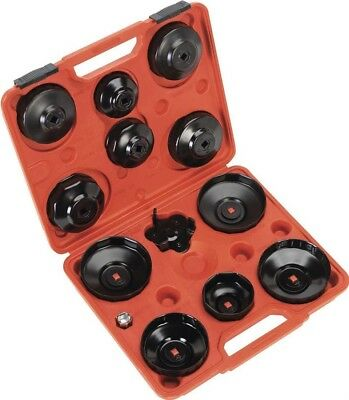 Sealey Oil Filter Cap Wrench Set 13pc - Euro Vehicles