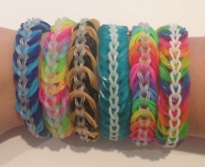 Rainbow Loom - Triple Chain Link Bracelets