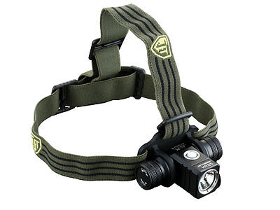JETBeam HR25 Rechargeable LED Headlamp - 800Lm XM-L2 -Includes 1x 18650 Battery