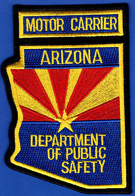 Arizona Department of Public Safety Shoulder Patch  Motor Carrier