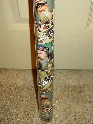 Collectible Hallmark Duck Dynasty Gift Wrapping Paper 2 Rolls New Hunting
