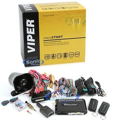 Viper 5110V Hybrid SuperCode 1-way Remote Start Car Alarm Keyless Entry Security